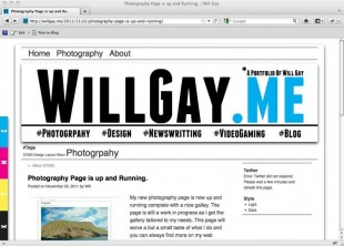 Website of Will Gay
